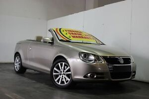 2008 Volkswagen EOS 1F MY09 Upgrade 147 TSI Gold 6 Speed Direct Shift Convertible Underwood Logan Area Preview