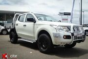 2015 Mitsubishi Triton MN MY15 GLX Double Cab White 5 Speed Manual Utility Garbutt Townsville City Preview