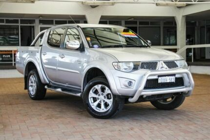2011 Mitsubishi Triton MN MY11 GLX-R Double Cab Silver 5 Speed Manual Utility Melville Melville Area Preview