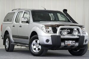 2009 Nissan Navara D40 ST-X Silver 5 Speed Automatic Utility Unley Park Unley Area Preview