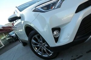 2015 Toyota RAV4 ASA44R Cruiser AWD Crystal Pearl 6 Speed Sports Automatic Wagon Waitara Hornsby Area Preview