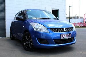 2012 Suzuki Swift FZ GA Blue 4 Speed Automatic Hatchback Toowoomba Toowoomba City Preview