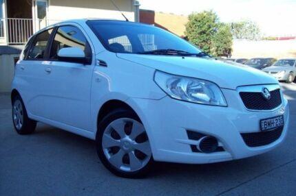 2009 Holden Barina TK MY10 White 5 Speed Manual Hatchback