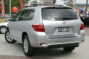 2008 Toyota Kluger GSU40R KX-S 2WD Silver 5 Speed Sports Automatic Wagon Waitara Hornsby Area Preview
