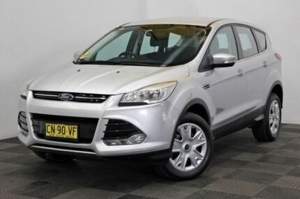 2014 Ford Kuga TF Ambiente AWD Silver 6 Speed Sports Automatic Wagon Seven Hills Blacktown Area Preview