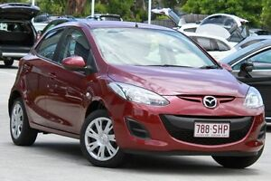 2012 Mazda 2 DE10Y2 MY12 Neo Red/Black 5 Speed Manual Hatchback Moorooka Brisbane South West Preview