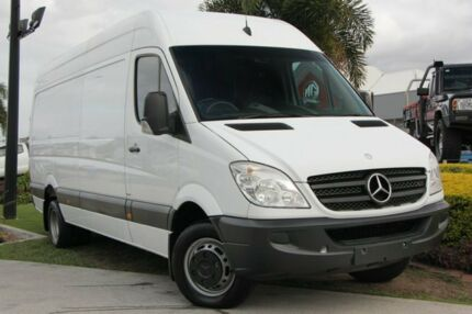 2011 Mercedes-Benz Sprinter NCV3 MY11 516CDI High Roof LWB White 6 Speed Manual Van