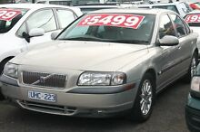 1999 Volvo S80 T6 Silver 4 Speed Auto Geartronic Sedan Briar Hill Banyule Area Preview