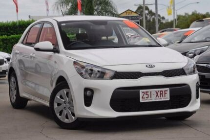 2017 Kia Rio YB MY17 S White 4 Speed Sports Automatic Hatchback