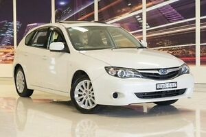 2011 Subaru Impreza G3 MY11 R AWD White 4 Speed Sports Automatic Hatchback Blacktown Blacktown Area Preview