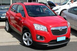 2016 Holden Trax TJ MY16 LTZ Red 6 Speed Automatic Wagon Cheltenham Kingston Area Preview