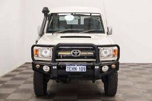 2013 Toyota Landcruiser VDJ78R MY13 GXL Troopcarrier White 5 Speed Manual Wagon Edgewater Joondalup Area Preview