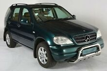 1999 Mercedes-Benz ML430 W163 Luxury Green 5 SPEED Automatic Wagon Melbourne CBD Melbourne City Preview