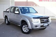 2008 Ford Ranger PJ XLT Crew Cab Silver 5 Speed Automatic Utility Midland Swan Area Preview