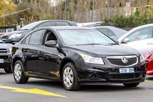 2012 Holden Cruze JH Series II MY13 CD Black 6 Speed Sports Automatic Sedan Ringwood East Maroondah Area Preview