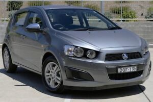 2013 Holden Barina TM MY13 CD Grey 5 Speed Manual Hatchback Lisarow Gosford Area Preview