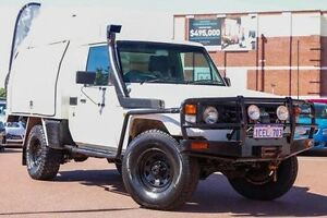 2006 Toyota Landcruiser HZJ79R White 5 Speed Manual Cab Chassis Fremantle Fremantle Area Preview