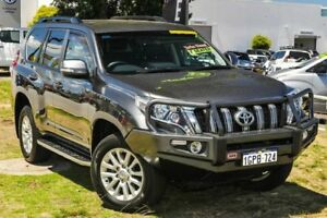 2014 Toyota Landcruiser Prado KDJ150R MY14 VX Grey 5 Speed Sports Automatic Wagon