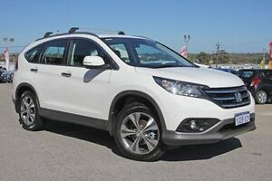 2014 Honda CR-V RM MY15 VTi-L 4WD White 5 Speed Sports Automatic Wagon Pearsall Wanneroo Area Preview