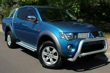 2008 Mitsubishi Triton ML MY08 GLX-R Double Cab Blue 4 Speed Automatic Utility Thebarton West Torrens Area Preview