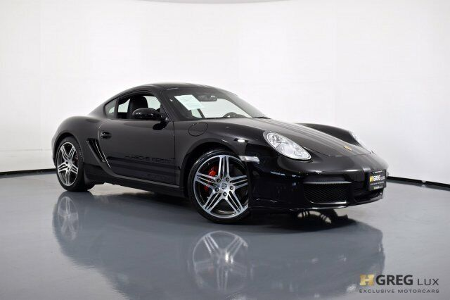 2008 Porsche Cayman S Porsche Design Edition 1 2dr Car Gas Flat 6-cyl 3.4L/207 B