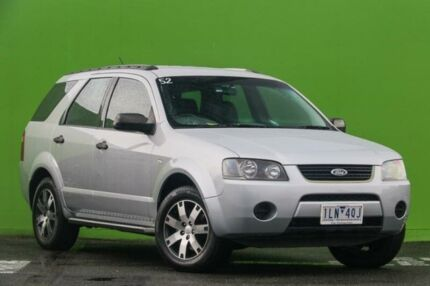 2007 Ford Territory SY SR Silver 4 Speed Sports Automatic Wagon Ringwood East Maroondah Area Preview