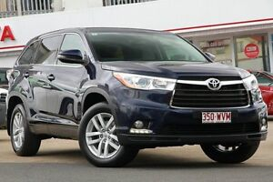 2015 Toyota Kluger GSU50R GX 2WD Dynamic Blue 6 Speed Sports Automatic Wagon Woolloongabba Brisbane South West Preview