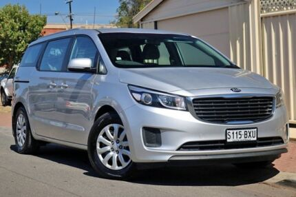2016 Kia Carnival YP MY17 S Silver 6 Speed Sports Automatic Wagon Glenelg Holdfast Bay Preview