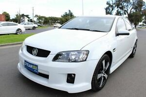 2006 Holden Commodore VE SS White 6 Speed Sports Automatic Sedan West Footscray Maribyrnong Area Preview