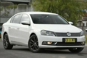 2013 Volkswagen Passat 3C MY13.5 130 TDI Highline White 6 Speed Direct Shift Sedan