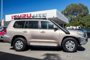2008 Toyota Landcruiser VDJ200R GXL Bronze 6 Speed Sports Automatic Wagon