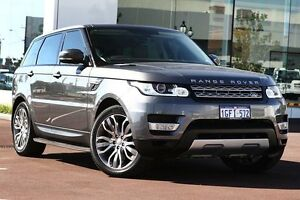 2014 Land Rover Range Rover Sport L494 MY14.5 SDV8 CommandShift HSE Grey 8 Speed Sports Automatic Osborne Park Stirling Area Preview