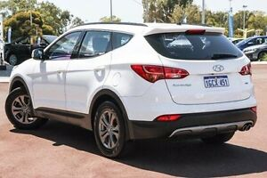 2012 Hyundai Santa Fe DM MY13 Active White 6 Speed Sports Automatic Wagon East Rockingham Rockingham Area Preview