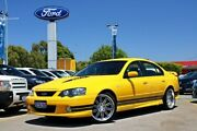 2004 Ford Falcon BA Mk II XR8 Yellow 4 Speed Sports Automatic Sedan Midland Swan Area Preview