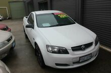 2007 Holden Commodore VE Omega White 4 Speed Automatic Utility Mitchell Gungahlin Area Preview