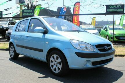 2010 Hyundai Getz TB MY09 S Blue 4 Speed Automatic Hatchback West Footscray Maribyrnong Area Preview