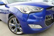 2012 Hyundai Veloster FS Coupe Blue 6 Speed Manual Hatchback Airport West Moonee Valley Preview