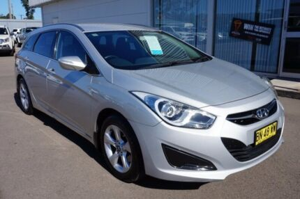 2011 Hyundai i40 VF Active Tourer Silver 6 Speed Sports Automatic Wagon