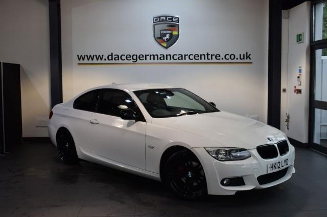 2012 12 BMW 3 SERIES 2.0 318I SPORT PLUS EDITION 2DR 141 BHP