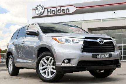 2015 Toyota Kluger GSU50R GX 2WD Silver 6 Speed Sports Automatic Wagon Liverpool Liverpool Area Preview