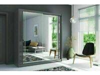 🌚SUPER SALE🌚 BERLIN 2 & 3 SLIDING DOORS WARDROBE IN 6 DIFF SIZES & IN 5 DIFF COLORS