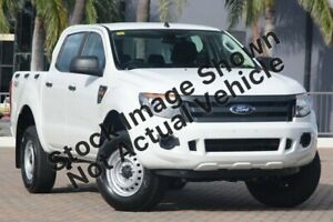 2012 Ford Ranger PX XL Double Cab White 6 Speed Sports Automatic Utility Mount Gambier Grant Area Preview