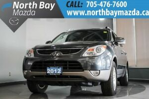 2012 Hyundai Veracruz AWD with Bluetooth, Power Lift Gate, Leath