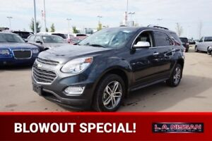 2017 Chevrolet Equinox AWD PREMIER Accident Free,  Navigation (G