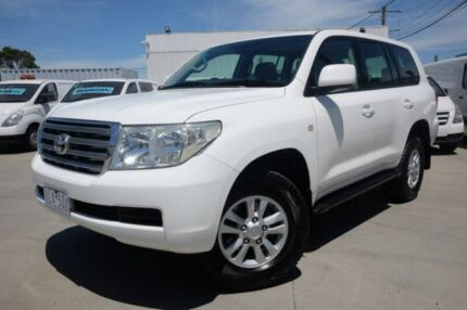 2008 Toyota Landcruiser VDJ200R VX White 6 Speed Sports Automatic Wagon Dandenong Greater Dandenong Preview