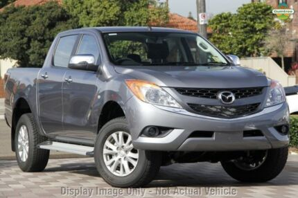 2015 Mazda BT-50 UP0YF1 XTR Grey 6 Speed Auto Seq Sportshift Utility Mount Gambier Grant Area Preview