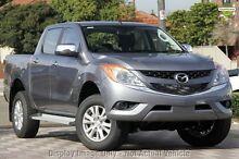 2015 Mazda BT-50 UP0YF1 XTR Grey 6 Speed Auto Seq Sportshift Utility Mount Gambier Grant Area Preview