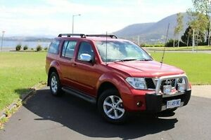 2007 Nissan Pathfinder R51 MY07 ST-L Red 6 Speed Manual Wagon Invermay Launceston Area Preview