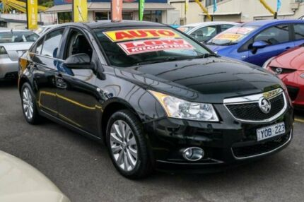 2012 Holden Cruze JH Series II MY12 CDX Black 6 Speed Sports Automatic Sedan Ringwood East Maroondah Area Preview
