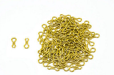 100 Count Size #2 Brass Sinker Eyes Eyelets for Hilts /& Do-It Lead Weight Mold
